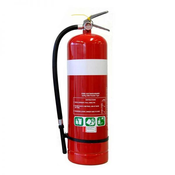 What is a dry chemical fire extinguisher used for